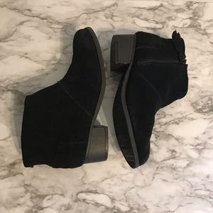 Toms ankle booties - Black sz 5